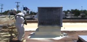 Sprayed Poly Foam