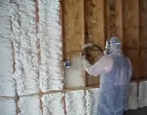 open cell spray foam