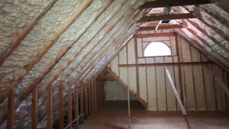 Why is spray foam insulation so great for my attic attic spray foam insulation solutioingenieria Gallery